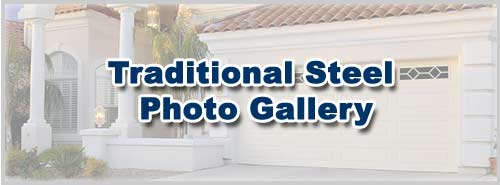 Traditional Steel Garage Door Photo Gallery